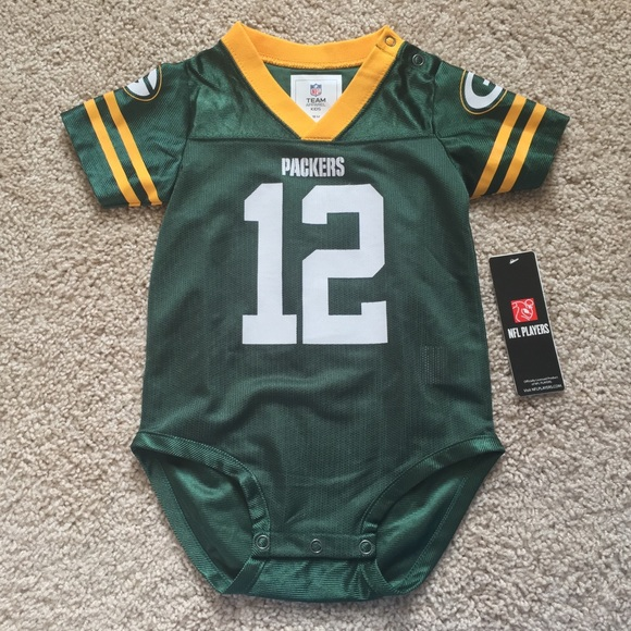finest selection 4c9ce 82e2c Green Bay Packers Aaron Rodgers baby jersey 18m NWT